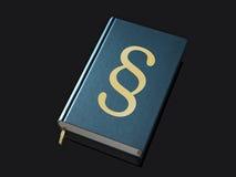 El libro de la ley foto de archivo libre de regalías