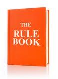 El libro de la regla foto de archivo libre de regalías