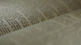 El libro de la Sagrada Biblia metrajes