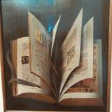 El libro del arte Fotografía de archivo libre de regalías