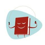 El libro divertido de la historieta es salto de la cuerda Foto de archivo