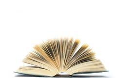El libro un ventilador Fotografía de archivo