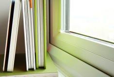 El libro verde de la cubierta Fotografía de archivo