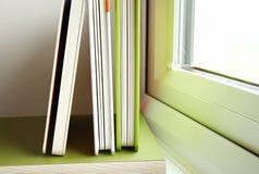El libro verde de la cubierta Fotos de archivo