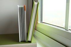El libro verde de la cubierta Imágenes de archivo libres de regalías