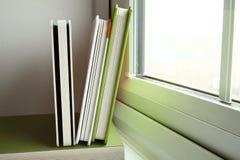 El libro verde de la cubierta Foto de archivo