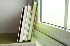 El libro verde de la cubierta Imagenes de archivo