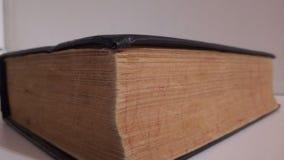 El libro viejo fotografía de archivo