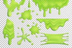 El limo gotea el sistema realista libre illustration