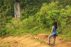 El Limon waterfall Royalty Free Stock Image