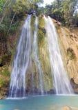 El limon waterfall, Dominican republic Stock Photos