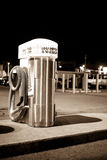 El limpiar con la aspiradora que se lava del coche Imagen de archivo