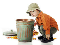 El limpiar se va Fotos de archivo libres de regalías