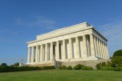 El Lincoln memorial en el Washington DC, los E Fotografía de archivo