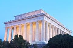 El Lincoln memorial en el Washington DC, los E Fotografía de archivo libre de regalías