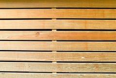 El listón de madera Fotografía de archivo