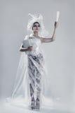 El llevar del modelo de moda Foto de archivo libre de regalías