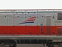 El logotipo de la compañía del tren de Indonesia Pinta kai fotografía de archivo