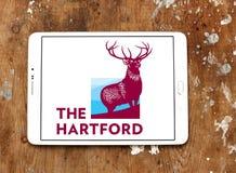 El logotipo de la compañía de seguros de Hartford Fotografía de archivo libre de regalías