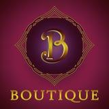 El logotipo del boutique Fotos de archivo libres de regalías