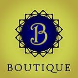 El logotipo del boutique Fotografía de archivo