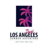 El logotipo y los emblemas que practican surf para la resaca aporrean o hacen compras Ilustración del vector Fotos de archivo libres de regalías
