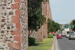 El Los Arcos (acueducto) en Queretaro, México. fotografía de archivo libre de regalías