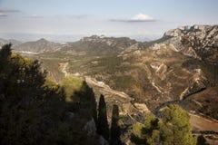 El Los vira las montañas hacia el lado de babor Fotografía de archivo libre de regalías