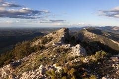 El Los vira las montañas hacia el lado de babor Fotos de archivo libres de regalías
