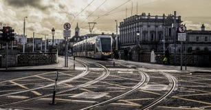 El Luas (Dublín) Foto de archivo libre de regalías