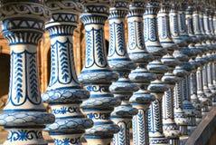 El lugar de España en Sevilla Fotografía de archivo