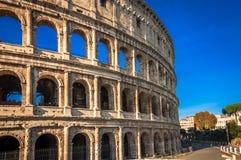 El lugar famoso de Colosseum Imagenes de archivo