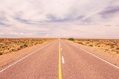 El lugar más plano en el mundo Foto de archivo