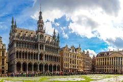 El lugar magnífico en Bruselas Foto de archivo libre de regalías
