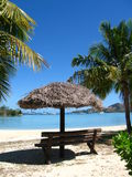 El lugar para se relaja por el océano, Fiji Fotos de archivo
