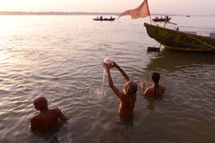 El lugar santo de la India Imagen de archivo