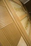 El lujo diseñó el detalle de la puerta imagen de archivo