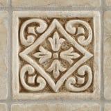 El mármol adornó el travertino de las tejas del fondo Imágenes de archivo libres de regalías