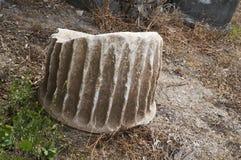 El mármol arruina la columna Foto de archivo libre de regalías