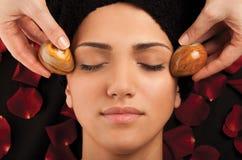El mármol eggs masaje Foto de archivo libre de regalías