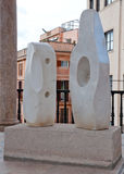 El mármol esculpe a Palau Museu marzo Foto de archivo