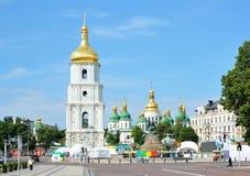 El más viejo cuadrado del día de ciudad Kyiv Imágenes de archivo libres de regalías