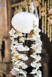El móvil de la concha marina para la decoración Fotografía de archivo