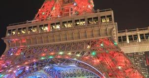 El Macao parisiense almacen de metraje de vídeo