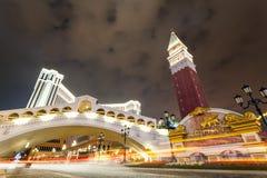 El Macao veneciano fotografía de archivo libre de regalías
