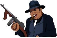 El Mafiosi ilustración del vector