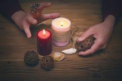 El mago brujería Imagen de archivo libre de regalías