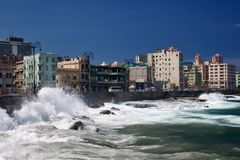 El Malecon Royalty Free Stock Photo