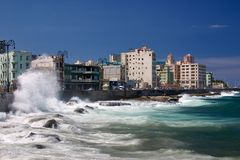 El Malecon Royalty Free Stock Images
