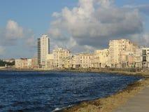 EL Malecon, La Havane Images stock
